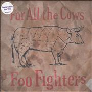 Click here for more info about 'Foo Fighters - For All The Cows - Blue Vinyl'