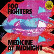 Click here for more info about 'Foo Fighters - Medicine At Midnight - Blue Vinyl - Sealed'