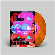 Click here for more info about 'Foo Fighters - Medicine At Midnight - Orange Vinyl - Sealed'