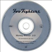 Click here for more info about 'Foo Fighters - Monkey Wrench'