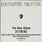 Click here for more info about 'Foo Fighters - One By One / All My Life - Displays'