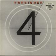 Click here for more info about 'Foreigner - 4 (Four) - Stickered Sleeve'