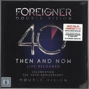 Click here for more info about 'Foreigner - Double Vision: Then And Now - 180gm Vinyl + Blu-Ray - Sealed'