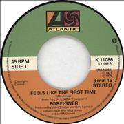 Click here for more info about 'Foreigner - Feels Like The First Time'