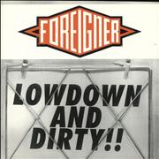 Click here for more info about 'Foreigner - Lowdown And Dirty'
