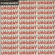 Click here for more info about 'Foreigner - Urgent - Sticker 'Sleeve''