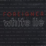 Click here for more info about 'Foreigner - White Lie'