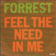 Click here for more info about 'Forrest - Feel The Need In Me'