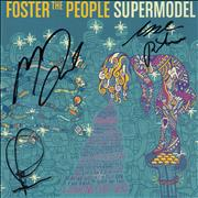 Click here for more info about 'Foster The People - Supermodel - Autographed'