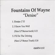 Click here for more info about 'Fountains Of Wayne - Denise'