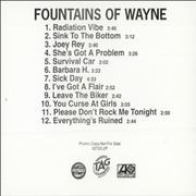 Click here for more info about 'Fountains Of Wayne - Fountains Of Wayne'