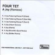 Click here for more info about 'Four Tet - A Joy'