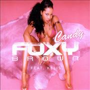 Foxy Brown Candy Europe CD single Promo