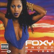 Foxy Brown Oh Yeah UK CD single