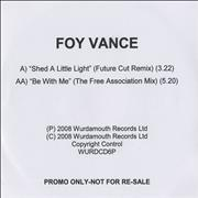Click here for more info about 'Foy Vance - Shed A Little Light - Remix'