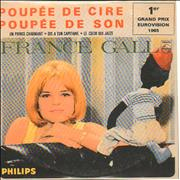 Click here for more info about 'France Gall - Poupee De Cire Poupee De Son'