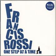 Click here for more info about 'Francis Rossi - One Step At A Time - Blue Vinyl'