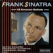 Click here for more info about 'Frank Sinatra - 18 Greatest Ballads'
