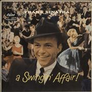 Click here for more info about 'Frank Sinatra - A Swingin' Affair - grey label'