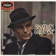 Frank Sinatra Frank Sinatra's Greatest Germany vinyl LP