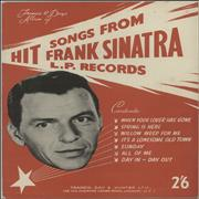 Click here for more info about 'Frank Sinatra - Hit Songs From Frank Sinatra L.P. Records'