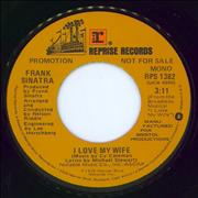 Click here for more info about 'Frank Sinatra - I Love My Wife'