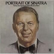 Frank Sinatra Portrait Of Sinatra Germany 2-LP vinyl set
