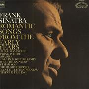 Click here for more info about 'Frank Sinatra - Romantic Songs From The Early Years - EX'