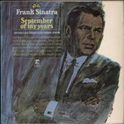Click here for more info about 'Frank Sinatra - September Of My Years'