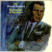 Click here for more info about 'Frank Sinatra - September Of My Years - EX'