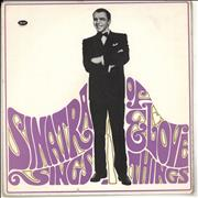 Click here for more info about 'Frank Sinatra - Sinatra Sings... Of Love And Things'