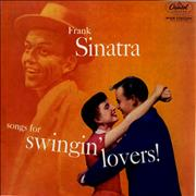 Click here for more info about 'Frank Sinatra - Songs For Swingin' Lovers - 1st - VG'