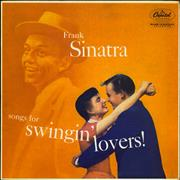 Click here for more info about 'Songs For Swingin' Lovers - 2nd - VG/EX'