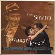 Frank Sinatra Songs For Swingin' Lovers - Lime Green Label UK vinyl LP