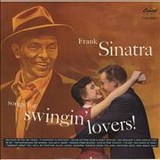 Click here for more info about 'Frank Sinatra - Songs For Swingin' Lovers! - Peach Label'