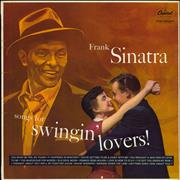 Click here for more info about 'Frank Sinatra - Songs For Swingin' Lovers! - yellow label'