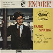 Click here for more info about 'Frank Sinatra - When Your Lover Has Gone'