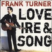 Click here for more info about 'Frank Turner - Love, Ire & Song'