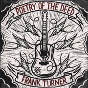 Click here for more info about 'Frank Turner - Poetry Of The Deed - Sealed'