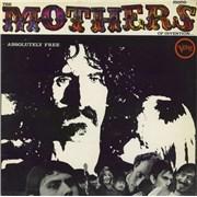 Frank Zappa Absolutely Free UK vinyl LP