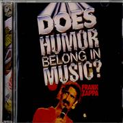 Click here for more info about 'Frank Zappa - Does Humor Belong In Music ?'