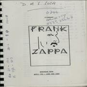Click here for more info about 'Frank Zappa - European Tour: April 7th - June 9th 1988'
