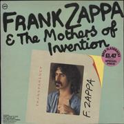 Frank Zappa Frank Zappa & The Mothers Of Invention - VG+/EX- UK vinyl LP