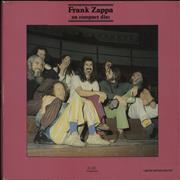 Click here for more info about 'Frank Zappa - Frank Zappa On Compact Disc - Interview'