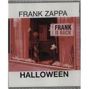 Frank Zappa Halloween UK DVD-Audio disc