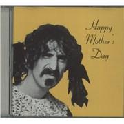 Frank Zappa Happy Mother's Day USA memorabilia Promo