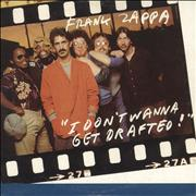 Click here for more info about 'Frank Zappa - I Don't Wanna Get Drafted - Card'