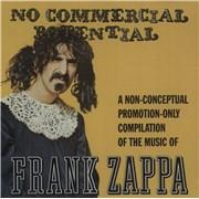 Frank Zappa No Commercial Potential UK CD album Promo