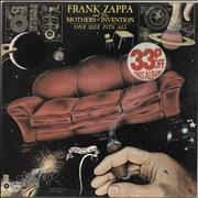 Click here for more info about 'Frank Zappa - One Size Fits All - 2nd'