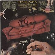 Click here for more info about 'Frank Zappa - One Size Fits All - Autographed'
